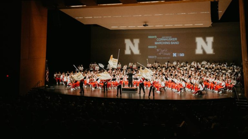 Cornhusker Marching Band Highlights Concert