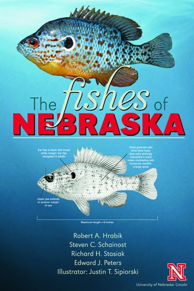 """The Fishes of Nebraska"" book cover"