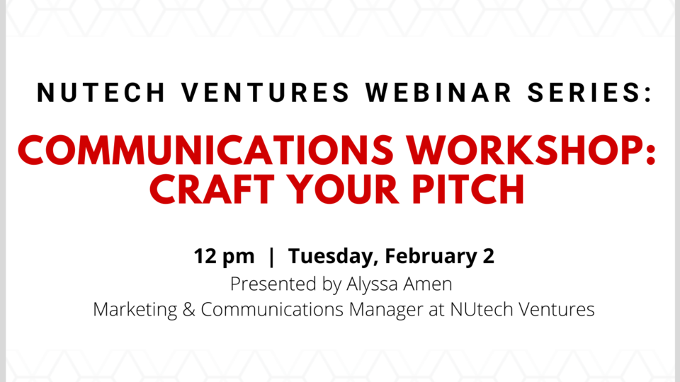 Learn more and register: https://go.unl.edu/craftyourpitch