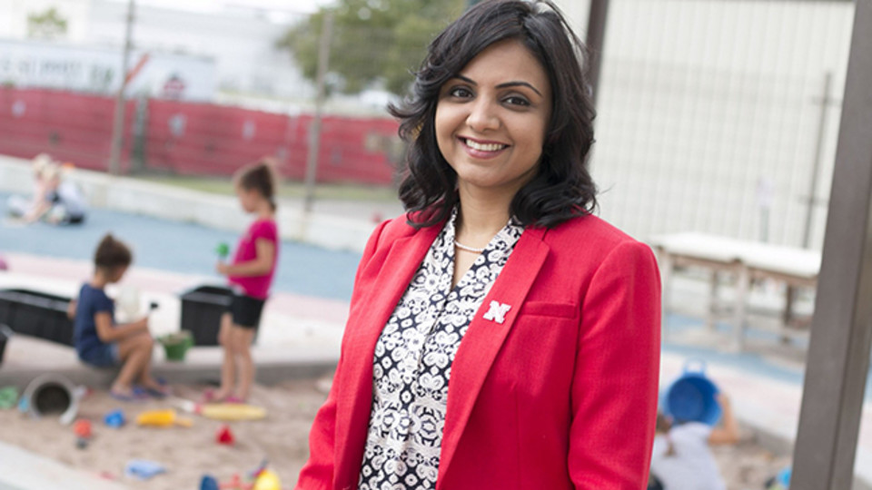 Nebraska's Dipti Dev received an Early Career Achievement Award from the USDA's National Institute of Food and Agriculture.