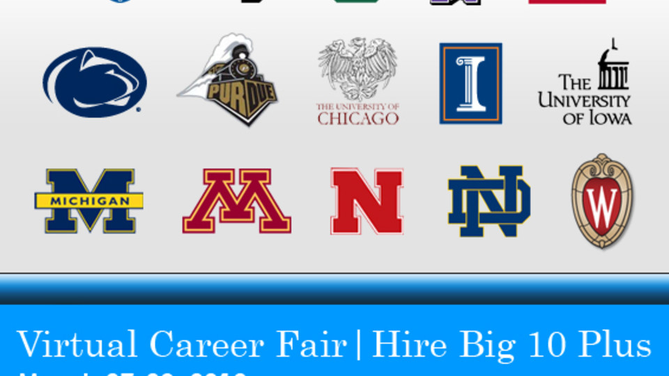 Hire Big Ten Career Fair November 7 8 Cse Bits Bytes