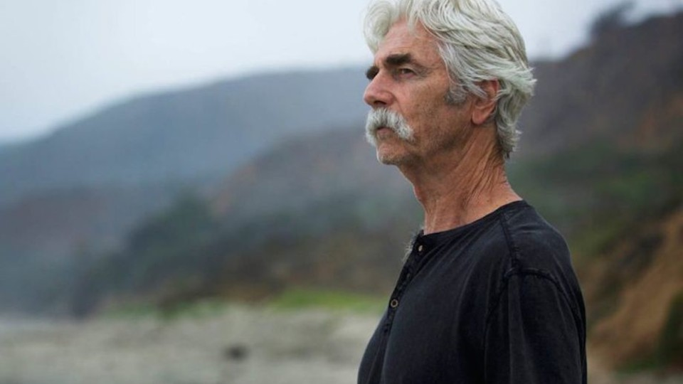 "Sam Elliott in ""The Hero"""
