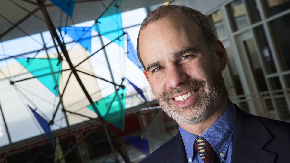 """A blog post by UNL's Ken Bloom was featured in a Feb. 5 episode of """"The Big Bang Theory."""" Bloom is an associate professor of physics and astronomy."""