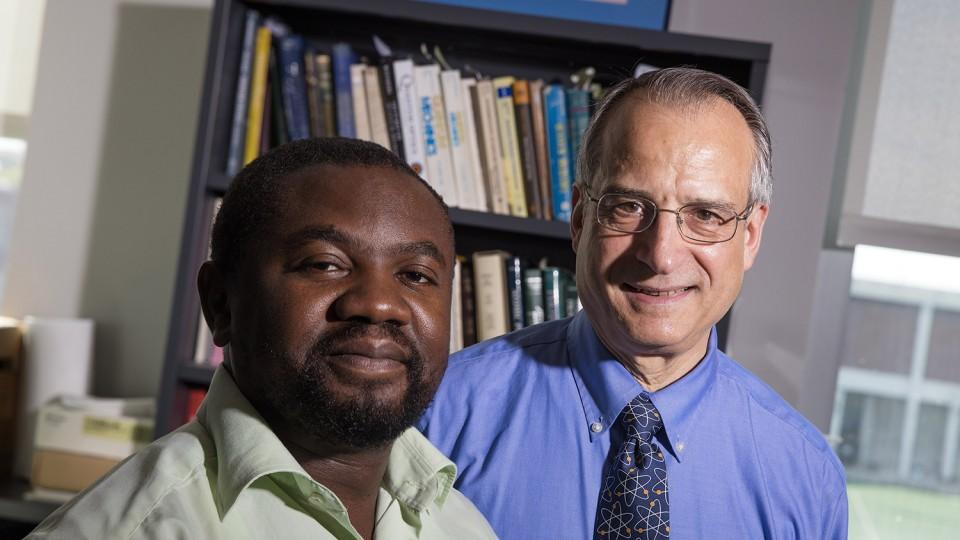 Jean Marcel Ngoko Djiokap and Anthony Starace