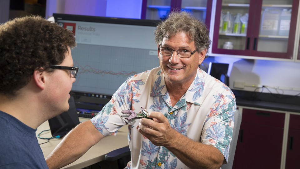 Steven Barlow's technology could help diagnose and treat nervous system conditions ranging from stroke and traumatic brain injury to Parkinson's disease and autism.