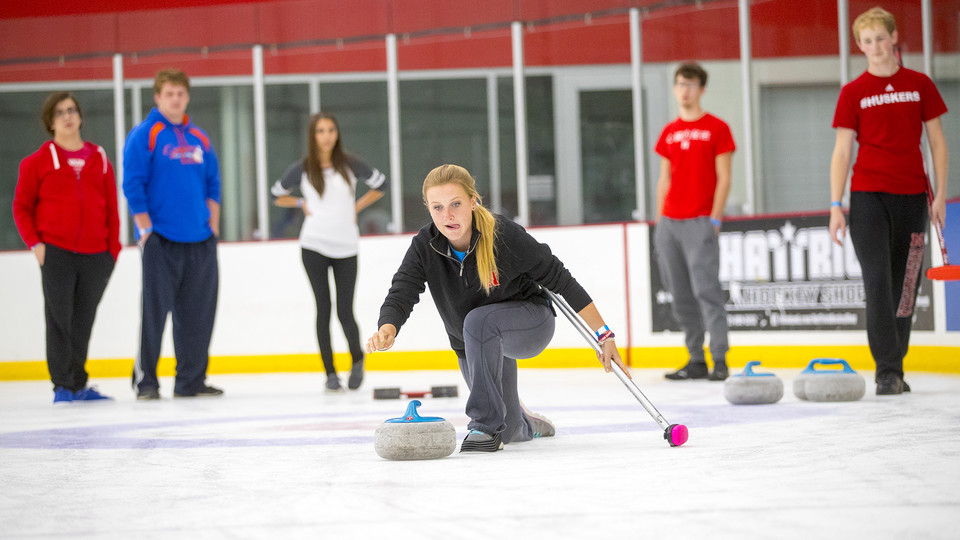 Curling and broomball are among the club sports that make use of the Breslow Ice Hockey Center. The facility was recently named among the nation's best.