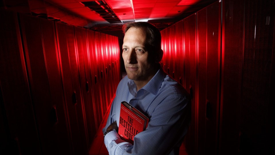 Matthew Jockers, an English professor at Nebraska who uses computers to study literature, and his colleague enlisted university supercomputer Tusker in their quest to identify the secret to making the New York Times Bestseller List.
