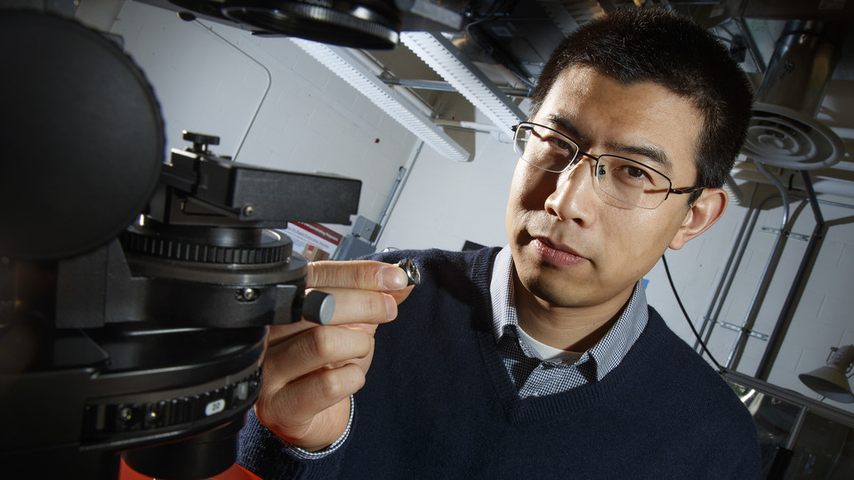 Ruiguo Yang, assistant professor of mechanical and materials engineering, and his colleagues found a way to analyze the fibrous nanostructure of beetles. Better understanding the structure and properties of beetle exoskeletons could help scientists engineer lighter, stronger materials.