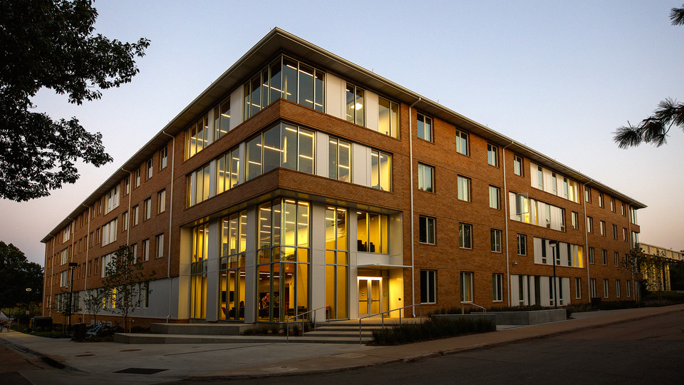 An open house featuring the new Massengale Residential Center is 3 to 4:30 p.m. Oct. 11. The residence hall facility opened in August.