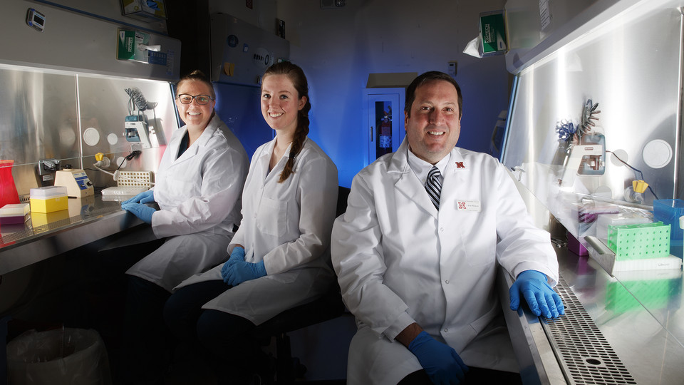 Eric Weaver and his colleagues at the Nebraska Center for Virology
