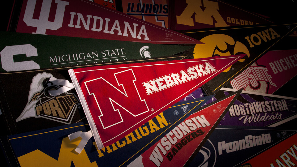Big Ten Pennants