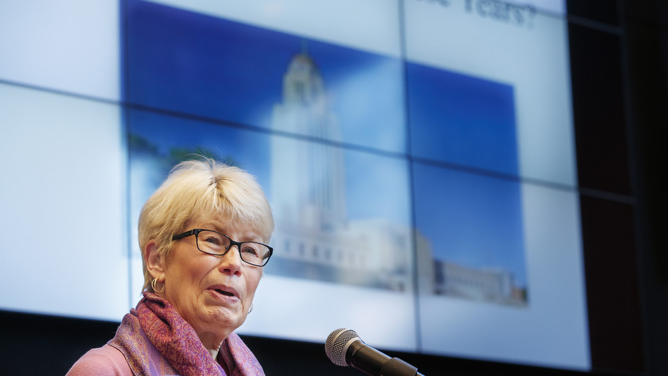 N|150 Nebraska Lectures: Charlyne Behrends