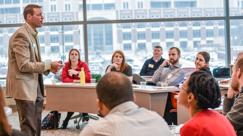 The Power Lunches series provides relevant business insights to professionals. It features 90-minute presentations led by Nebraska faculty.