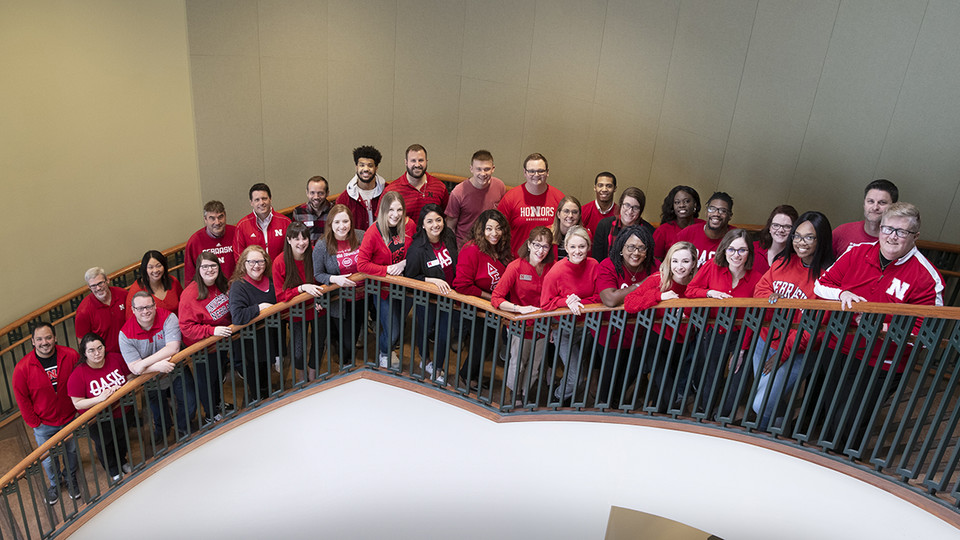 Huskers who developed the Husker Dialogues series and Inclusive Leadership Retreats were recently honored by the University of Nebraska. The programs earned the first Inclusive Excellence Collaboration Award.