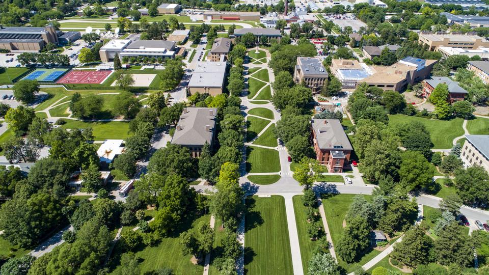 East Campus aerial