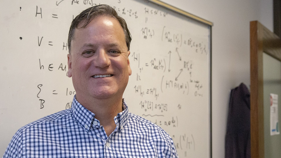 Mark Walker is the 10th University of Nebraska–Lincoln faculty member to be named an American Mathematical Society fellow. He is also one of 52 mathematical scientists selected in the society's Class of 2020.