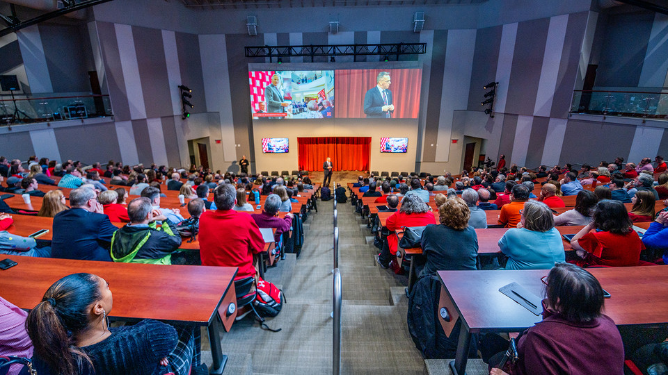The N2025 strategic plan was released by Chancellor Ronnie Green during the State of Our University address on Feb. 14.