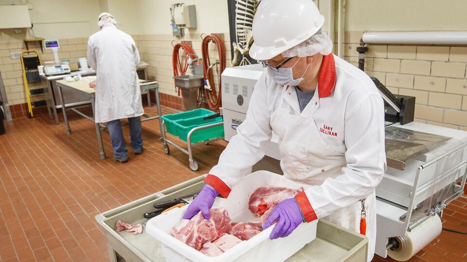 Pork donation processing