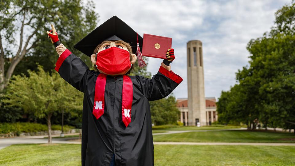 Go Big Grad: A Husker Graduation Celebration will begin streaming at 9 a.m. Aug. 15 at https://commencement.unl.edu.