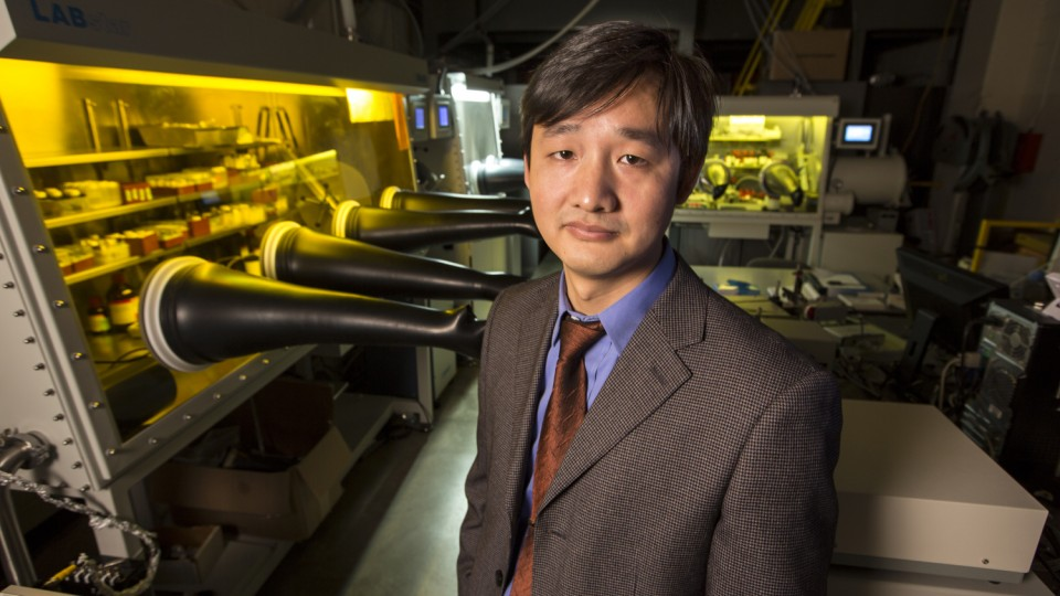 Jinsong Huang, assistant professor of mechanical engineering