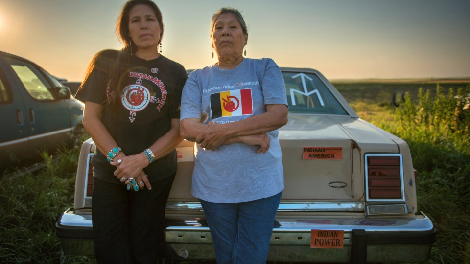 """Marcy Gilbert (left) and Madonna Thunder Hawk (right) with Dr. Elizabeth Castle and Christina D. King will present """"Indigenous Women Behind and in Front of the Camera: The Making of 'Warrior Women'"""" for the third annual Hubbard Lecture Oct. 1."""