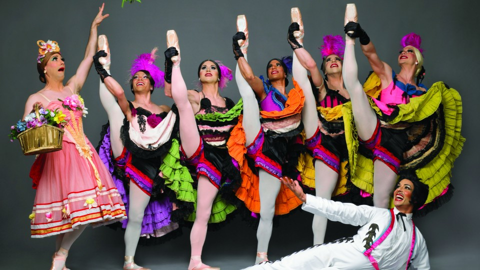 "Les Ballets Trockadero De Monte Carlo, also known as ""The Trocks,"" will perform at 7:30 p.m. Feb. 5 at the Lied Center for Performing Arts."