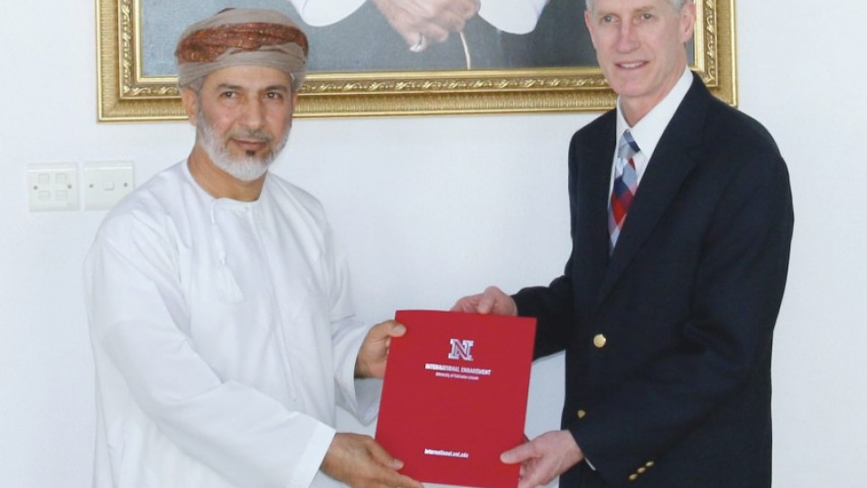 UNL to collaborate with Oman Tourism College  74b21a41e