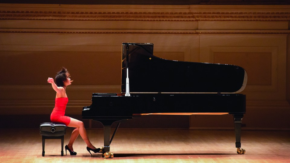 Pianist Yuja Wang will perform with the Russian National Orchestra Feb. 27 at the Lied Center for Performing Arts.