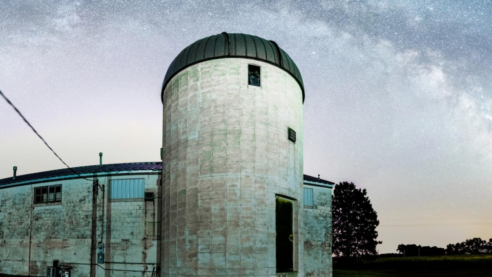 The UNL Department of Physics and Astronomy will host an open house from 8 to 11 p.m. April 15 at Behlen Observatory, southeast of Mead.
