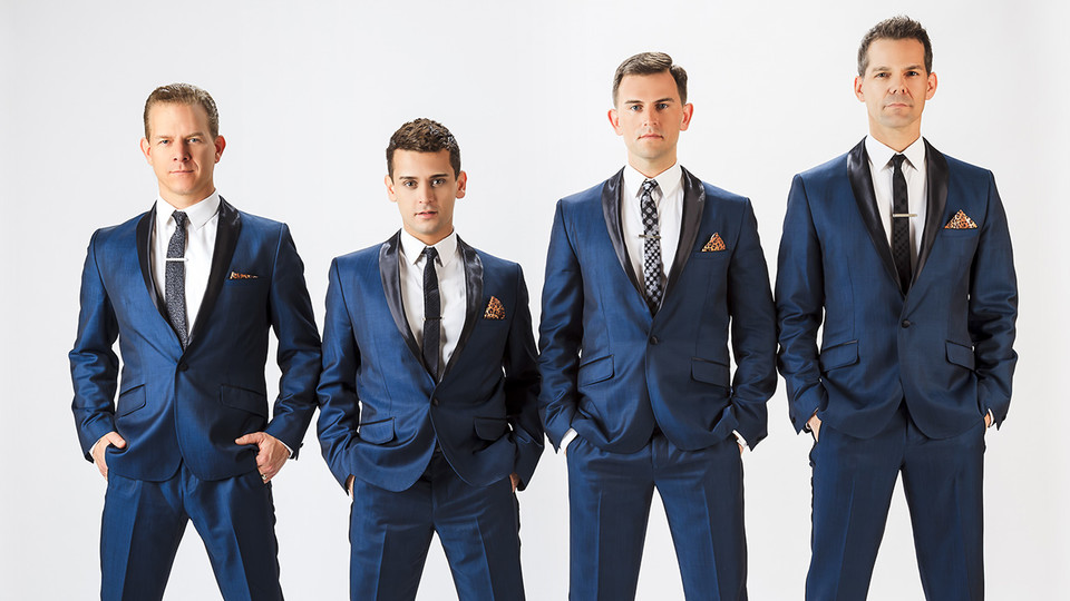 The Midtown Men will perform at 7:30 p.m. April 7 at the Lied Center for Performing Arts.