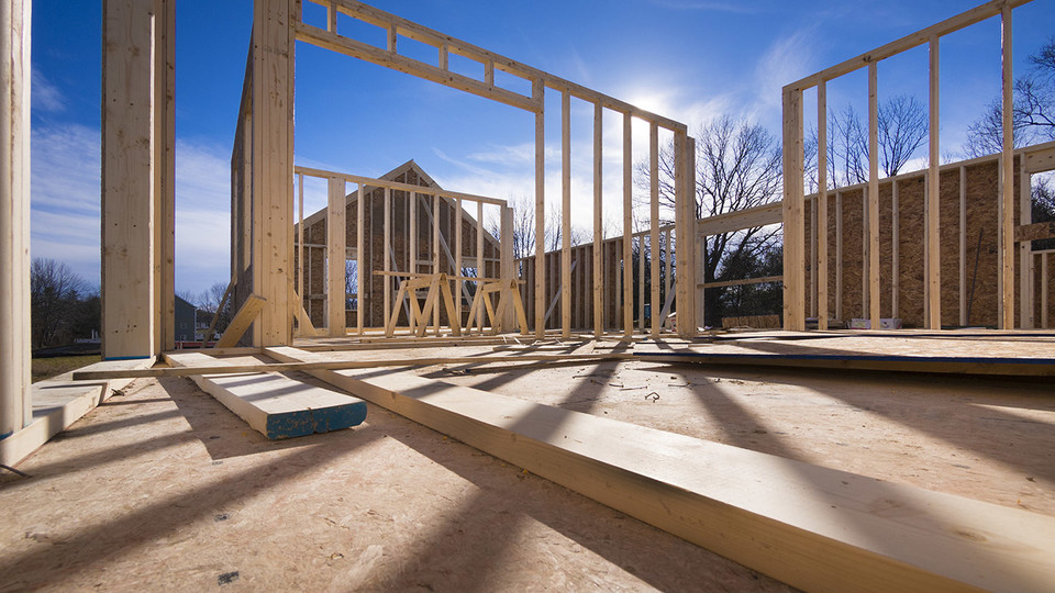 Nebraska's leading economic indicator showed a decrease in building permits for single-family homes in April.