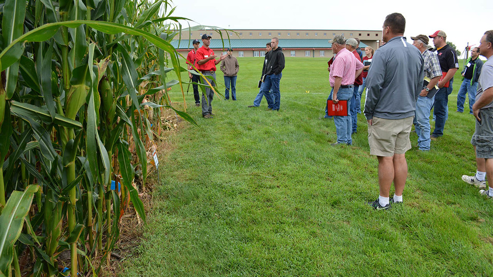 Nebraska Extension offers Crop Management Diagnostic Clinics in July and August at the Eastern Nebraska Research and Extension Center near Mead.