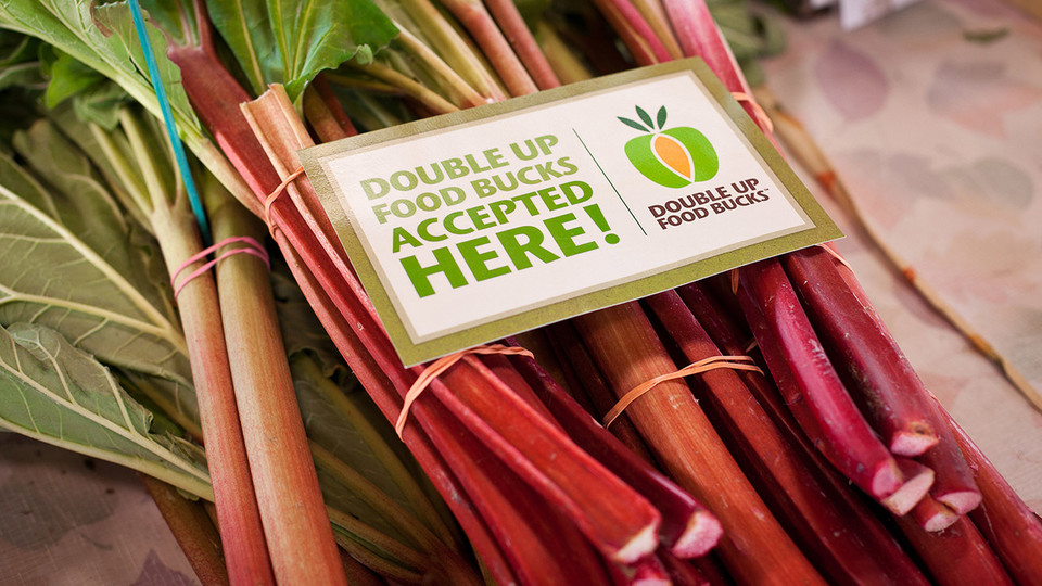 The Double Up Food Bucks program allows low-income families to double the value of federal nutrition benefits for produce at three farmer's markets and a grocery store in Lincoln.