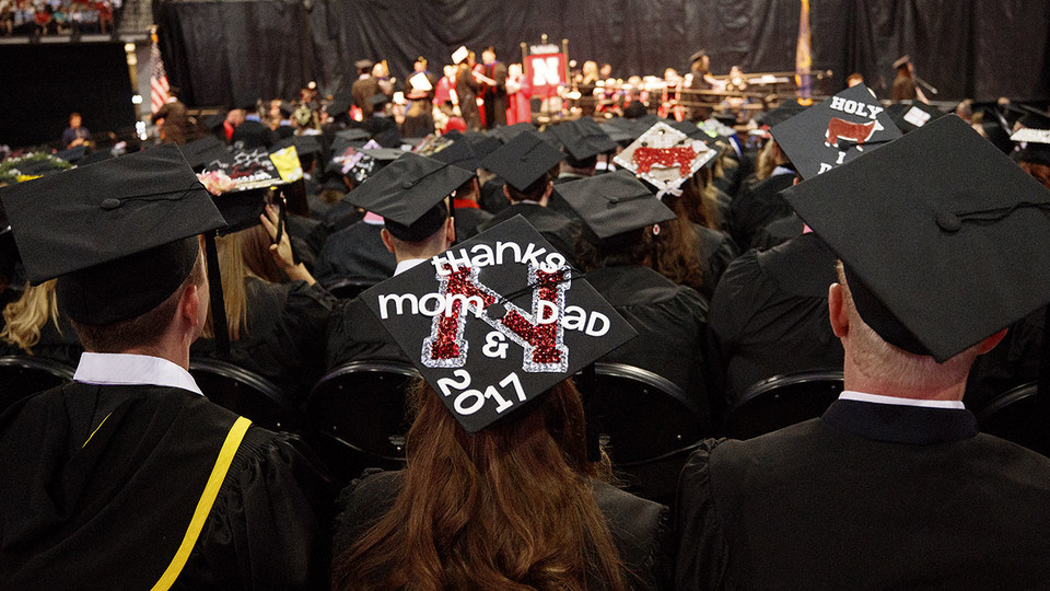 The summer commencement ceremony begins at 9:30 a.m. Aug. 12 at Pinnacle Bank Arena.