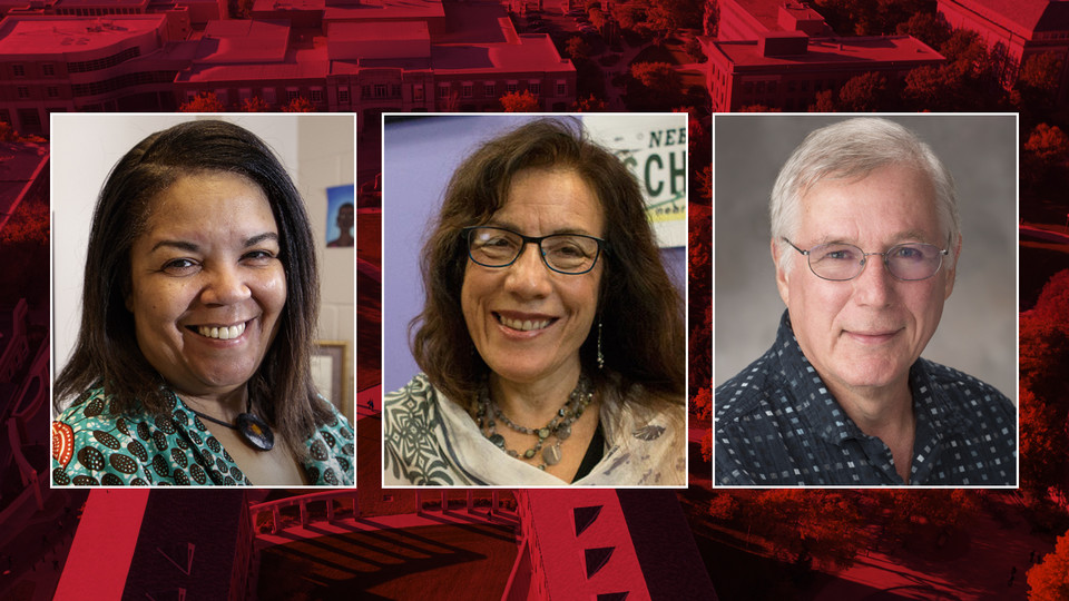 Nebraska's (from left) Dawne Curry, Amelia Montes and Anthony Zera have earned Fulbright awards to teach, work and learn abroad during the 2017-18 academic year.