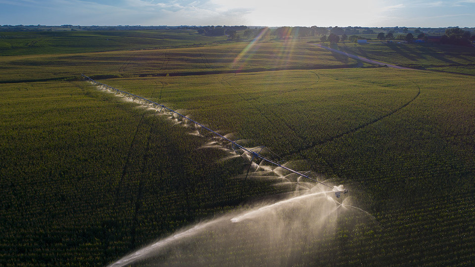 Nebraska research hydrologist Joe Szilagyi has shown that precipitation has decreased in the most heavily irrigated regions of Nebraska, a finding that could have worldwide water-conservation implications if substantiated by further research.