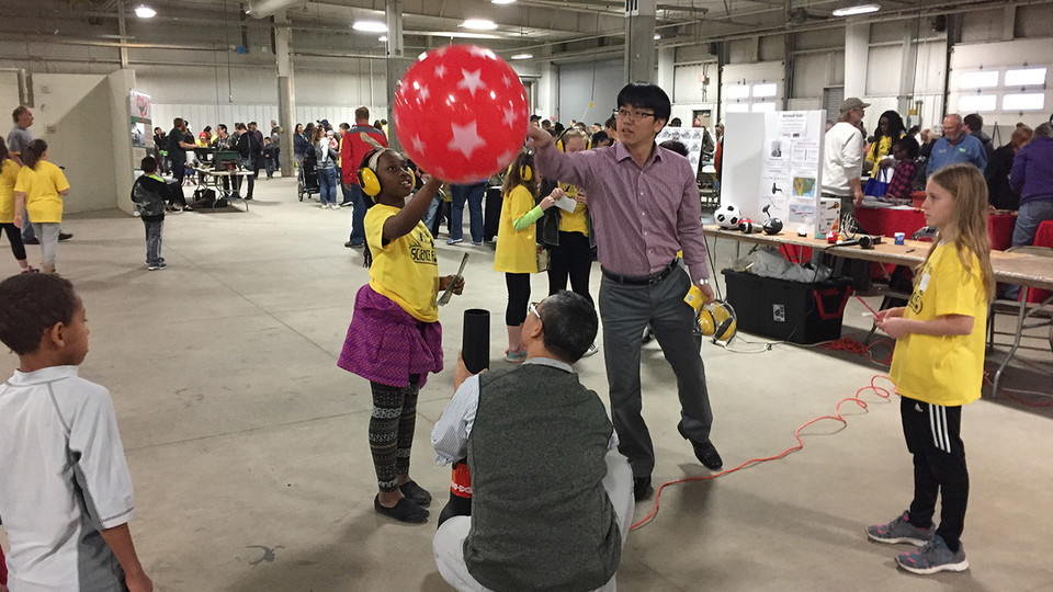 Jae Sung Park, assistant professor of mechanical and materials engineering at Nebraska, will explain aerodynamics during the April 22 Sunday with a Scientist at Morrill Hall.