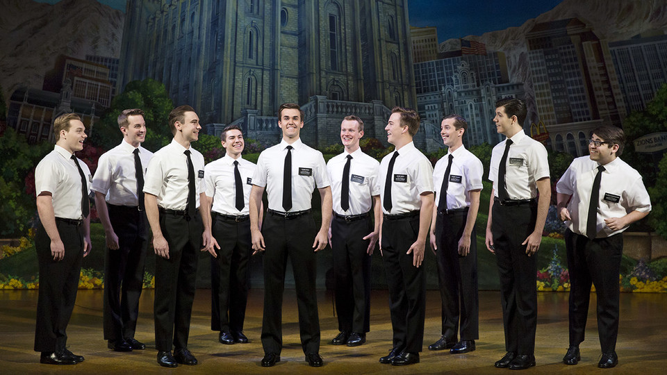 """The Lied Center will host the musical comedy """"The Book of Mormon"""" Dec. 11-16."""