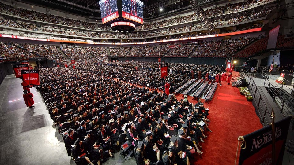 The University of Nebraska–Lincoln conferred 3,221 degrees during commencement exercises May 4 and 5.
