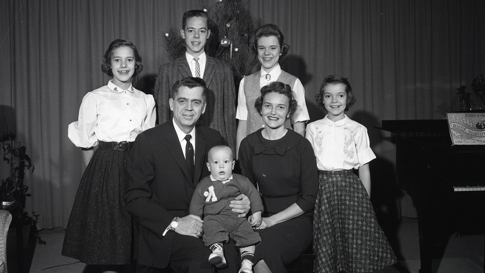Clifford Hardin, chancellor of the University of Nebraska from 1954 to 1968, is seen with his family in this file photo. Family History Day is 9:30 a.m. to 3:10 p.m. June 9 in Nebraska's Richards Hall.