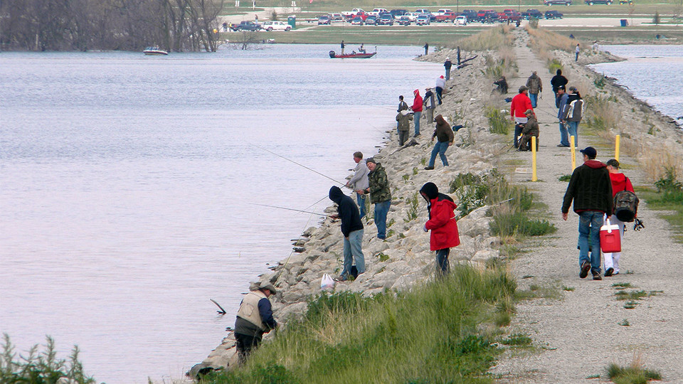 Anglers use Lake Wanahoo in Nebraska. A five-year study by researchers at Nebraska examined angler habits and lake use at water bodies across the state.