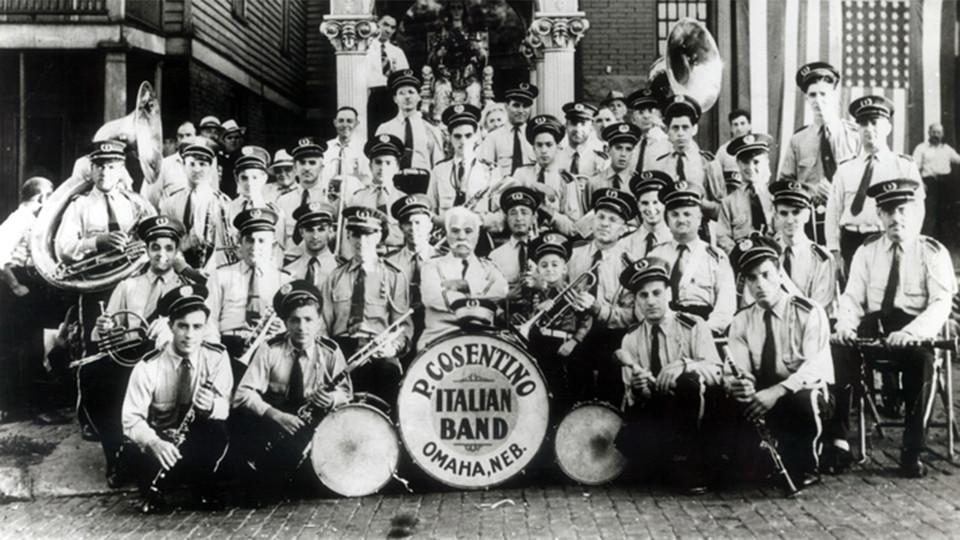 The P. Cosentino Italian Band, circa 1940.