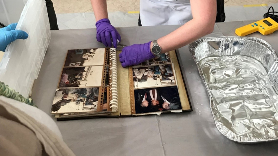 Saving Your Family Treasures workshops are planned for March 29 and 31 at the University of Nebraska State Museum at Morrill Hall. Smithsonian experts will demonstrate how to handle, dry and clean damaged objects and share tips on personal safety, prioritization and preservation options.