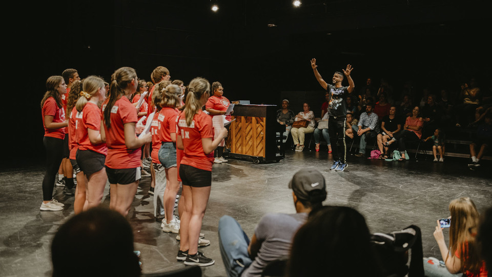 The Lied Center for Performing Arts' Triple Threat Broadway Summer Intensive drew 36 students interested in building their skills in singing, acting and dancing.