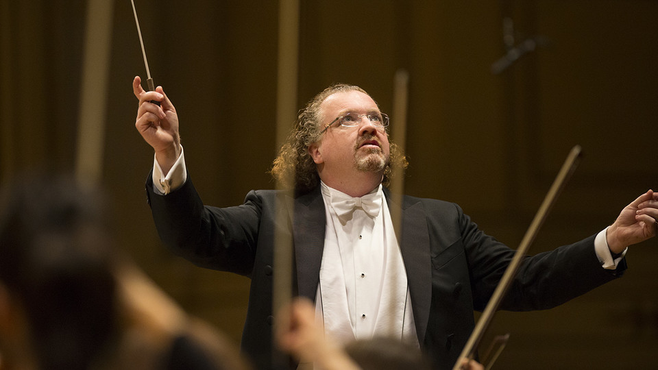 The St. Louis Symphony Orchestra, featuring new music director Stéphane Denève, will perform at 7:30 p.m. Sept. 19 at the Lied Center for Performing Arts.