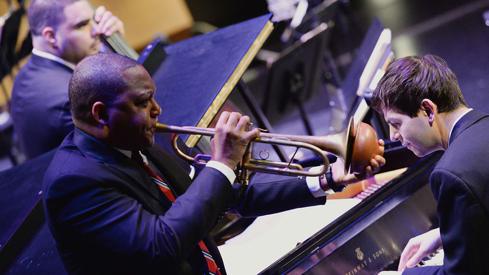 The Jazz at Lincoln Center Orchestra with Wynton Marsalis will perform at 7:30 p.m. Dec. 6 at the Lied Center for Performing Arts.