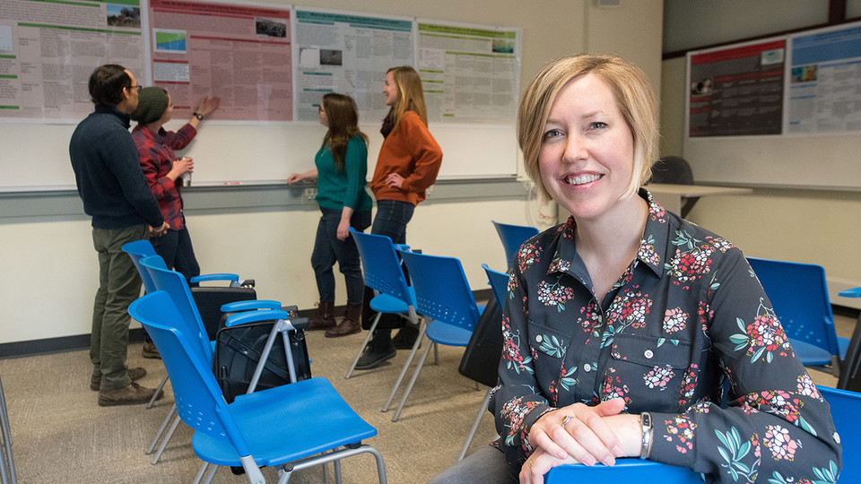 Jenny Dauer, assistant professor in science literacy in the University of Nebraska–Lincoln's School of Natural Resources, has earned a National Science Foundation grant to study how human factors such as emotion, motivation and metacognition come into play in science classrooms.