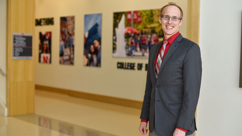 Troy Smith, assistant professor of management in the University of Nebraska–Lincoln's College of Business, studied the value of consistency in improving individual performance and well-being.