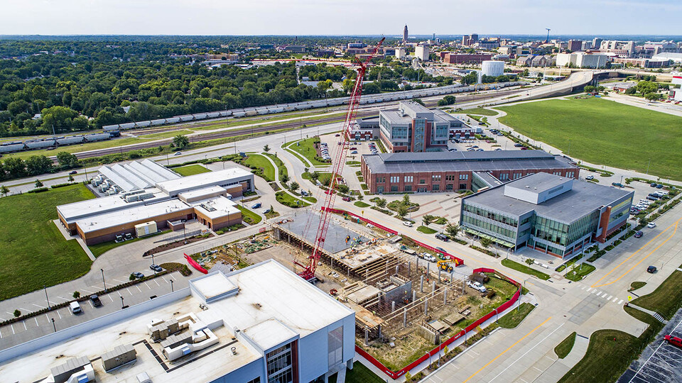 Construction on The Scarlet Hotel, a 154-room Marriott Tribute property at Transformation Drive and 21st Street, is quickly progressing.