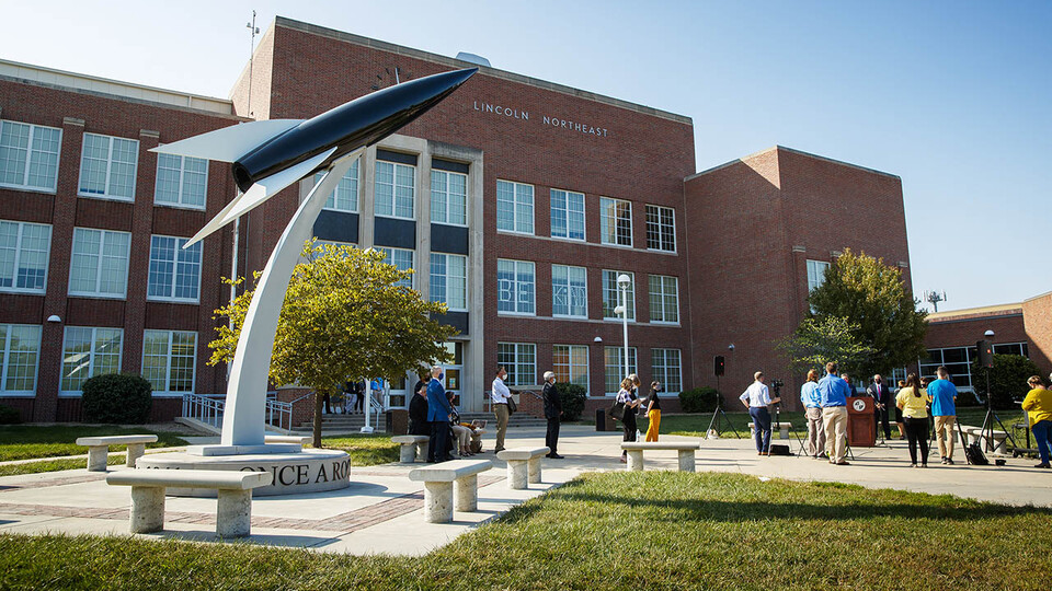 The new LPS-UNL Early College and Career STEM Program at Lincoln Northeast High School will prepare Northeast students in the areas of food, energy, water and societal systems.